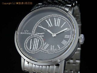 5a5623fbdb 【MARVIN マーヴィン】PM025.12.74.12 クオーツ メンズウォッチ 腕時計【新品】