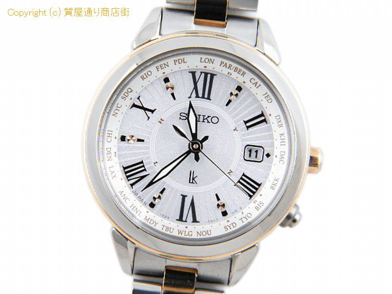 on sale b9699 6f643 セイコー ルキア セイコー レディース腕時計 ルキア SSQV020 ...