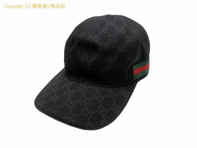 big sale 29827 30a2e グッチ グッチ GGキャンバス ベースボールキャップ 帽子 200035 ...